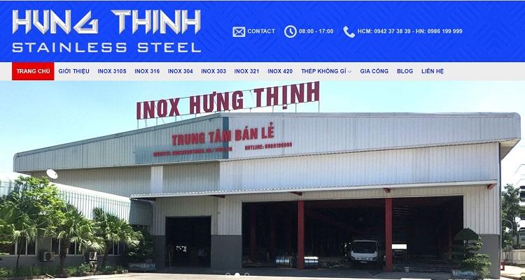 Inox Hưng Thịnh - cửa hàng bán inox tại TPHCM