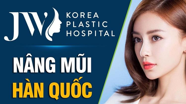 Bệnh viện Thẩm mỹ JW Hàn Quốc là địa chỉ nâng mũi đẹp ở Sài Gòn