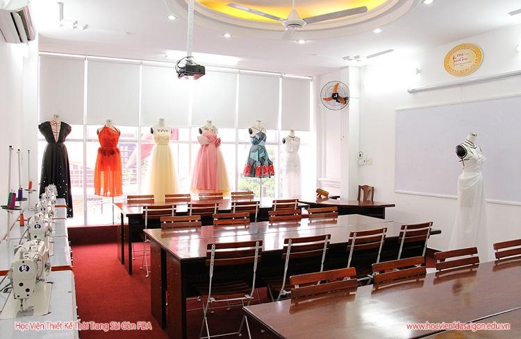 Học thiết kế thời trang ở TPHCM tại Học Viện Thiết Kế Thời Trang Sài Gòn