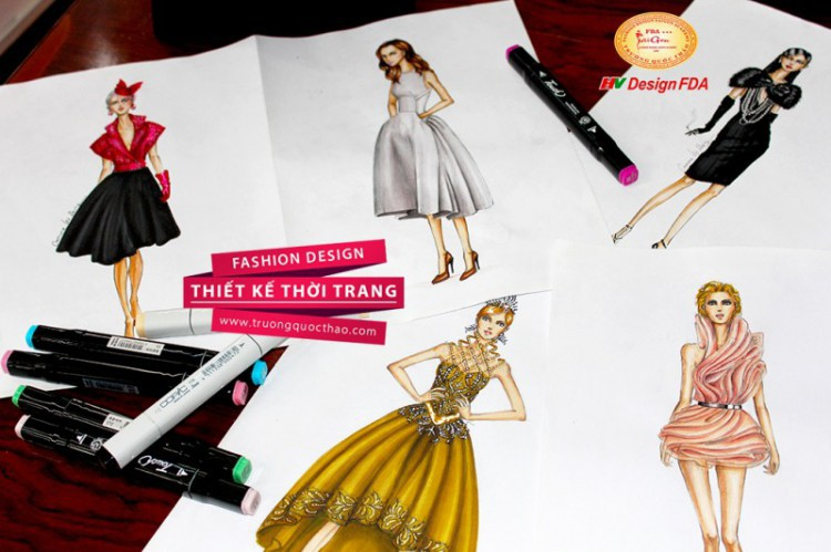 học thiết kế thời trang ở TPHCM tại ADS