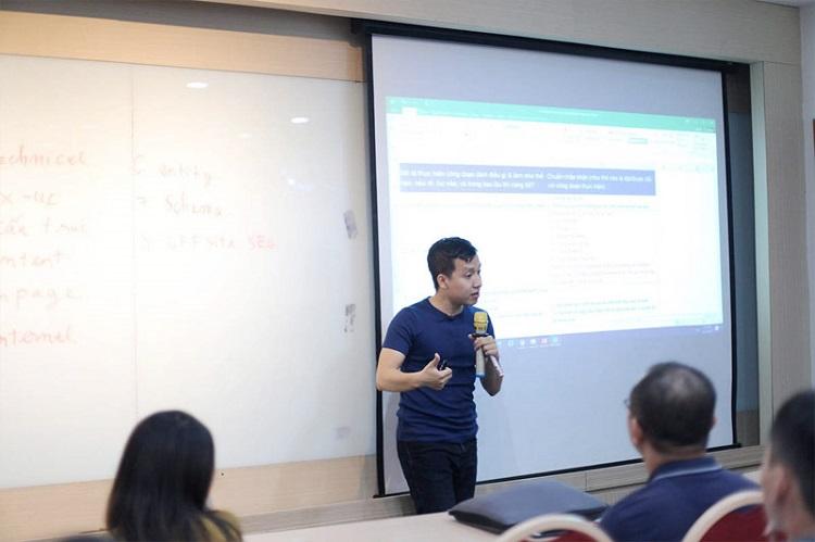 Trung tâm GTV SEO – học seo ở đâu tốt nhất TPHCM