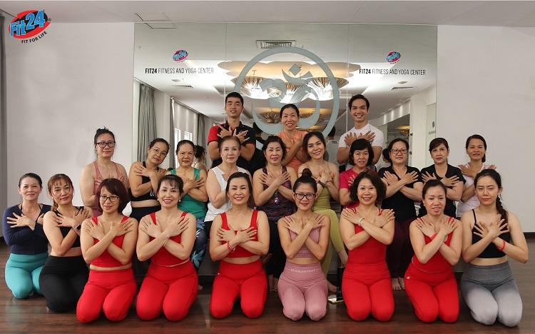 Fit24 – Fitness & Yoga Center là phòng tập yoga quận 7 uy tín