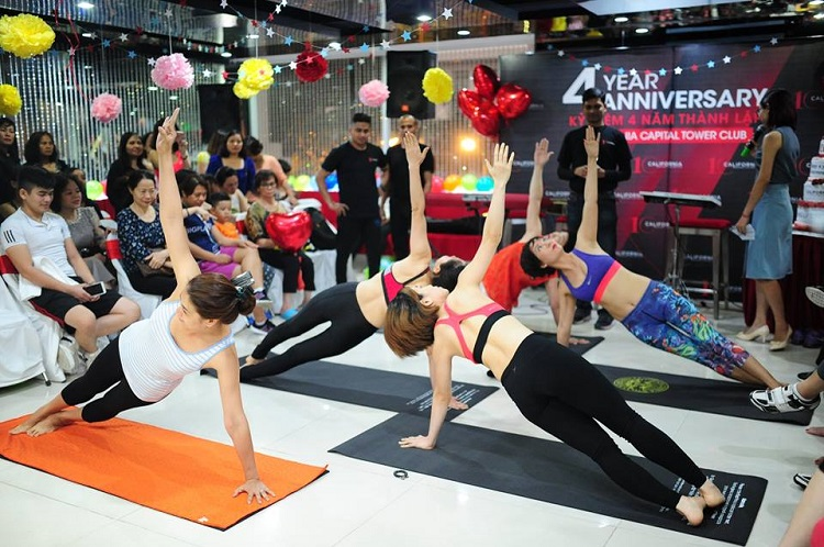 Phòng tập yoga quận Tân Phú – California Fitness & Yoga