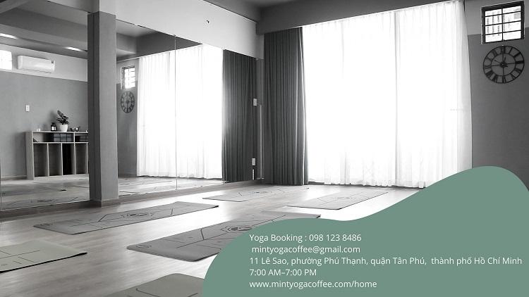 Mint Yoga & Coffee - yoga quận Tân Phú