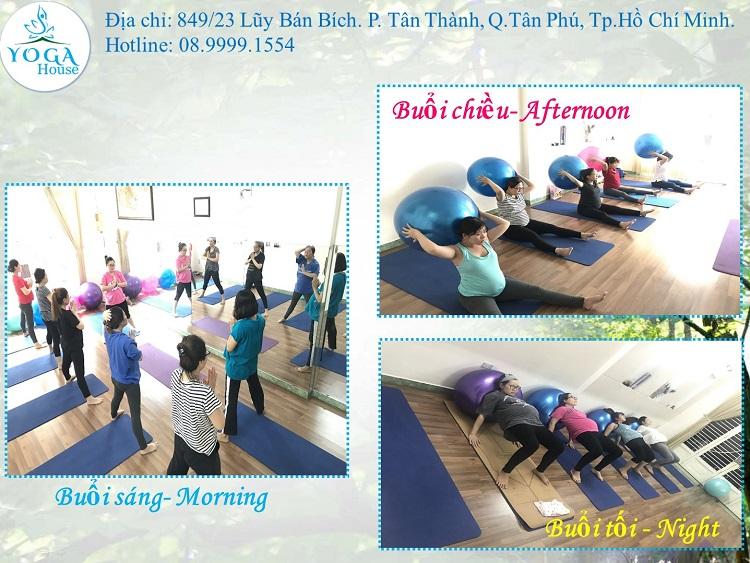 Yoga House Tân Phú - yoga quận Tân Phú