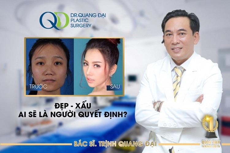 Bác sĩ Trịnh Quang Đại – bác sĩ sửa mũi đẹp nhất sài gòn