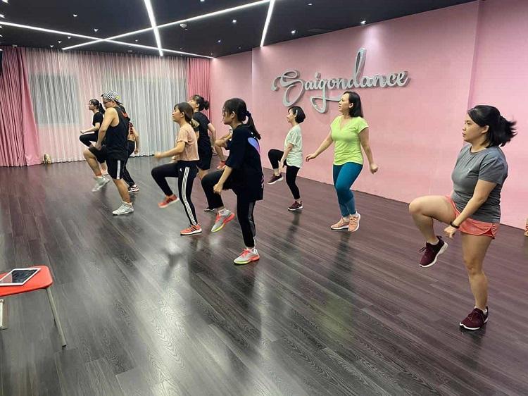 SaigonBellydance – cho thuê phòng tập nhảy ở TPHCM