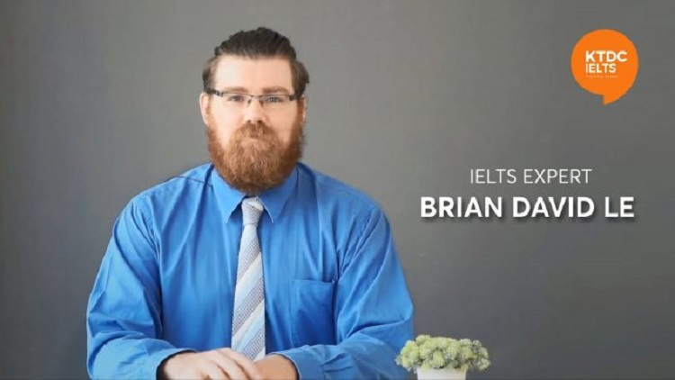 Thầy Brian - giáo viên dạy ielts giỏi TPHCM
