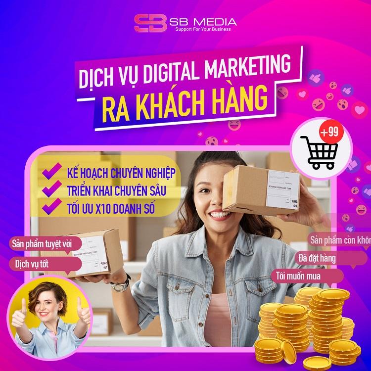Khóa học Digital Marketing tại SB Media