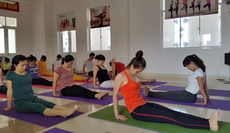 Phòng tập yoga quận Tân Phú - Yoga Happy