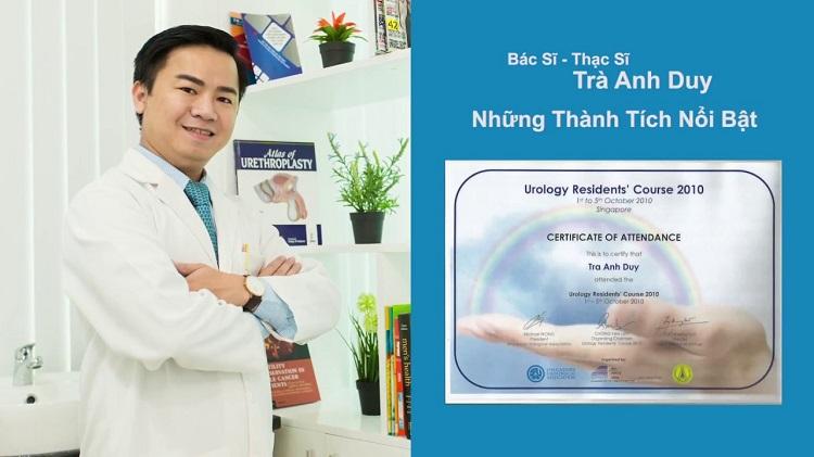Thạc sĩ, bác sĩ Trà Anh Duy – bác sĩ chữa hiếm muộn giỏi ở TPHCM
