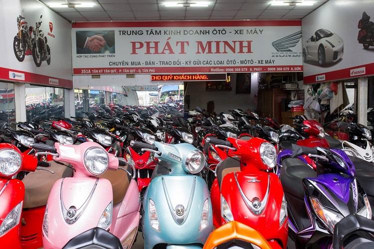 Xe Máy PHÁT MINH là cửa hàng xe máy cũ tphcm