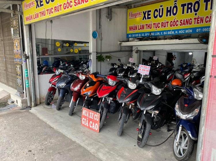 Cửa hàng xe máy cũ TPHCM Quang Liên