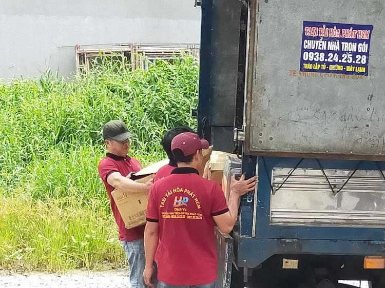 Dịch vụ chuyển nhà Hòa Phát - Bình Chánh