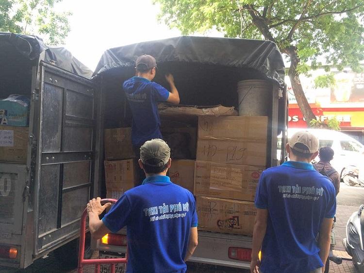 Dịch vụ chuyển nhà trọn gói quận 10 – Phú Mỹ Express