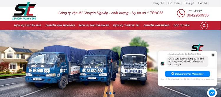 Dịch vụ chuyển nhà Thành Công là dịch vụ chuyển nhà quận 4