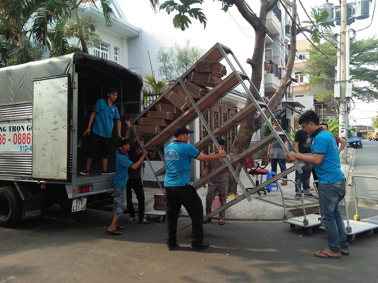 Dịch vụ chuyển nhà trọn gói Thành Tâm quận 4