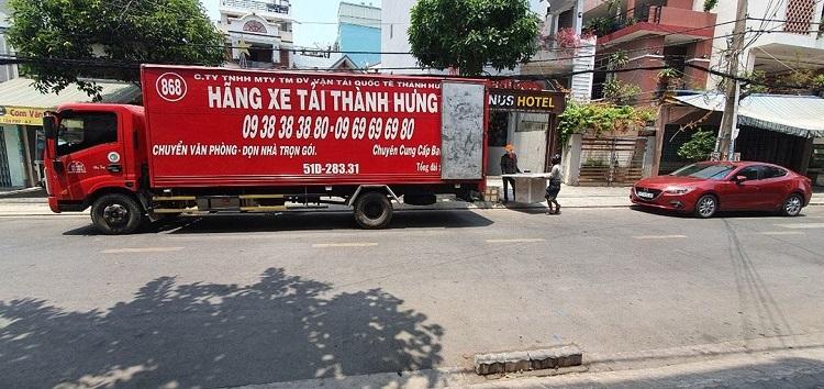 Chuyển nhà trọn gói Thành Hưng - dịch vụ chuyển nhà quận 5