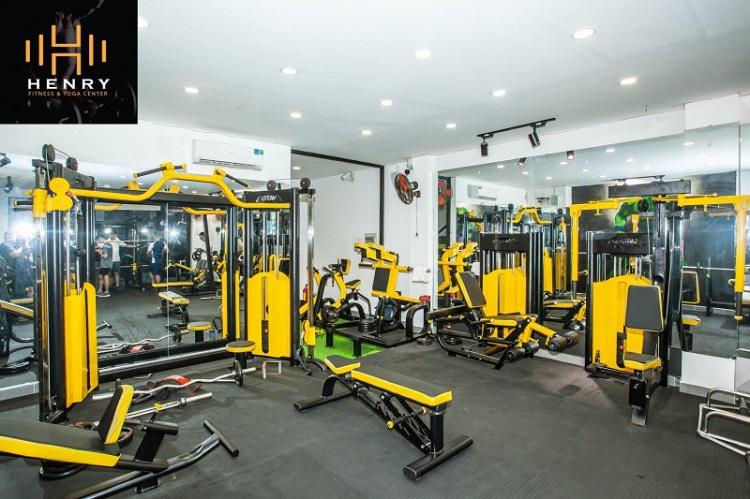 Phòng tập Henry Fitness & Yoga Center