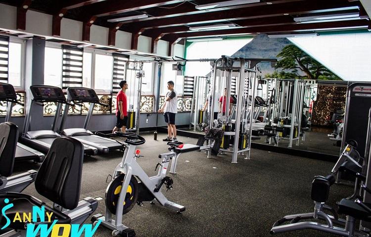 Phòng tập Sanny Wow là phòng tập gym quận 6 giá rẻ