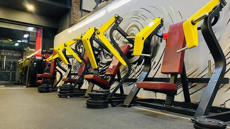 Phòng tập The Moto Gym là phòng tập gym quận 6