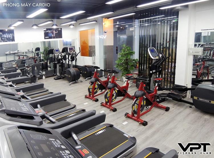 Trung tâm Gym – Yoga VPT Fitness Chi nhánh 3 là phòng tập gym quận 5 chất lượng