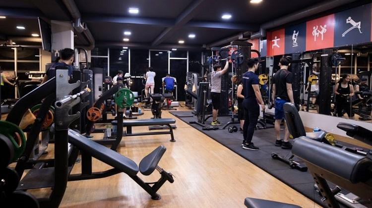 Câu lạc bộ thể hình Vạn Lực là phòng gym quận 6