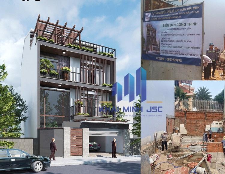 Công ty cổ phần tư vấn giám sát thiết kế xây dựng Khải Minh