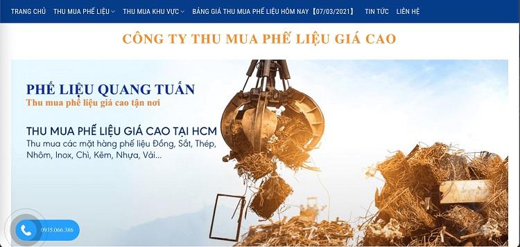 Công ty thu mua phế liệu Quang Tuấn - công ty thu mua phế liệu giá cao TPHCM