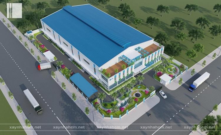 công ty xây dựng nhà xưởng Phú Nguyên