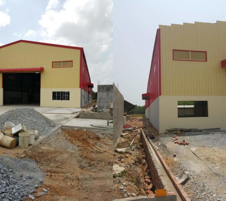 Công ty xây dựng nhà xưởng VNTECO